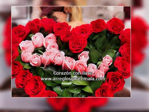 Regalar Corazón de Rosas