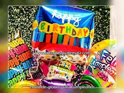 envío de globos de cumpleaños