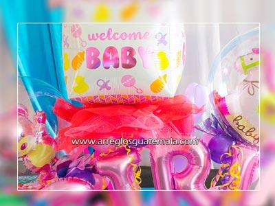envio de globos de nacimiento