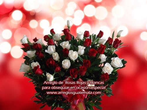 Flores para el 14 de febrero día del amor y la amistad