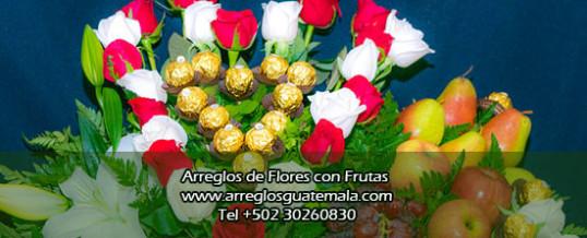 Flores a domicilio con frutas