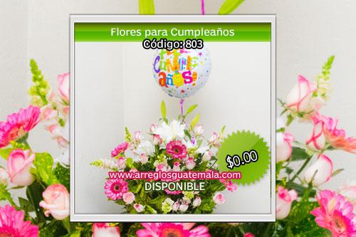 flores para cumpleaños a guatemala