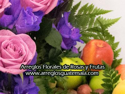 flores y frutas en guatemala