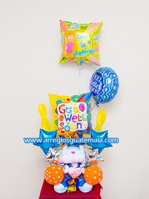 entrega de globos para domicilio