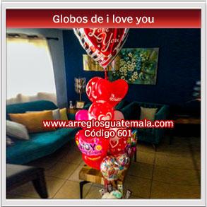 globos a domicilio en guatemala de i love you