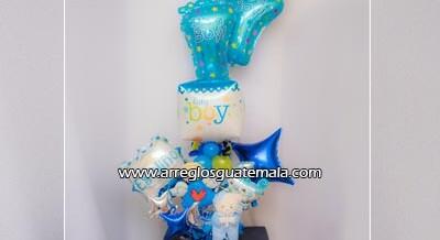 Envío de globos para bebe hoy