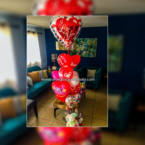 globos de amor a domicilio en guatemala para regalar en cualquier fecha