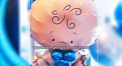 Globos para bebes personalizados