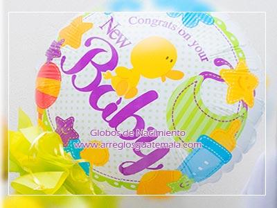 globos para bebe zona 14