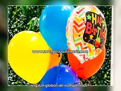 regalar globos de cumpleaños