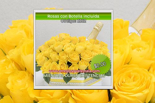 Rosas para regalar envio de flores en guatemala